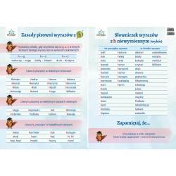 Zestaw 12 plansz ortograficznych