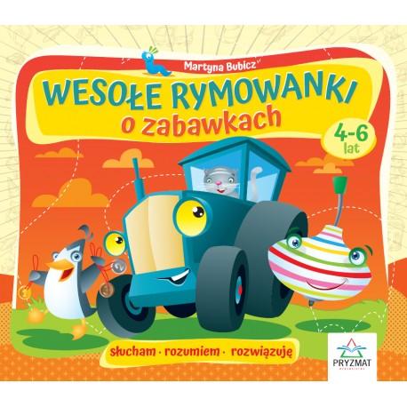 Wesołe rymowanki o zabawkach 4-6lat