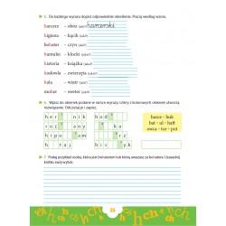 Ortograficzne zadania z wyrazami do zapamiętania CH-H