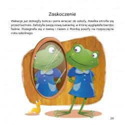Emocje i rozterki żabki Amelki